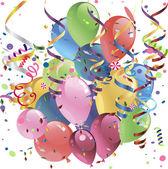 矢量卡气球 — 图库矢量图片