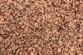 Background chocolate chips — Stock Photo
