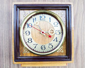 Photo old clock — Stock Photo