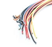 Cut electrical wire — Zdjęcie stockowe