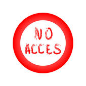 Do not have access — Vector de stock