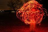 Ball of light. — Stock Photo