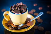 Cup of Cents — Stock Photo