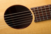 Profesionální akustická kytara — Stock fotografie