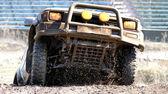 Jeep-sprint — Stock Photo