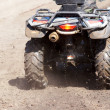 o motorista atv — Foto Stock