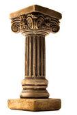 Column on white background — Stock Photo