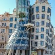 Dancing house in Prague. Czech republic - Stock Photo