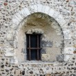 Ancient stone window — Stock Photo