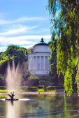 Saxon garden in Warsaw, Poland — Stock Photo