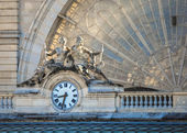 Clock, Gare de l'Est, Paris, France — Stockfoto