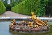 Flora fountain in Versailles Palace garden, France — Stock Photo