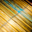 Wooden mat, macro — Stock Photo