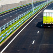 Foto Stock: Truck on road