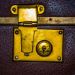 Stock Photo: Valise lock