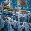 Ancient city in Kekova — Stock Photo #34350041