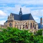 Eglise Saint-Eustache church, Paris, France — Stock Photo