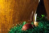 Bottle of champagne — Zdjęcie stockowe