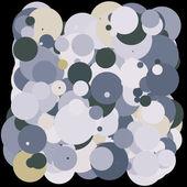 2d colorful bubbles — Stock Photo