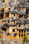 Ancient city of Myra, Antalya, Turkey — Stockfoto