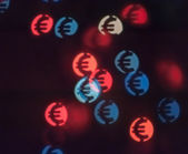 Bokeh in shape of euro — Stock Photo