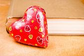 Καρδιά σε καλάθι — Φωτογραφία Αρχείου