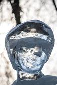рисунок льда — Стоковое фото