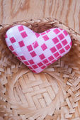 Heart in basket — Foto de Stock