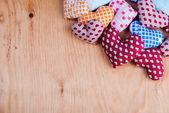 Heart in basket — Stok fotoğraf