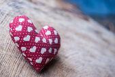 Heart in basket — Photo