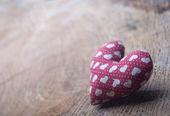 Heart in basket — Stock Photo