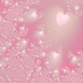 Background with hearts — Stockfoto
