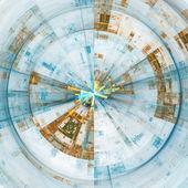 Technology discs — Stock Photo