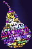 Economic growth. — Stock Photo