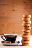 Muffins in vase — Stockfoto