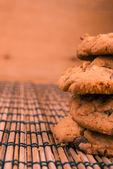 オート麦クッキー — ストック写真