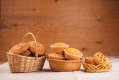 Oats cookies — Stock Photo