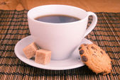 白杯咖啡 — 图库照片