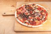 Pizza detailní — Stock fotografie