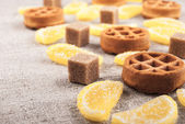 Marmalade pieces — Photo