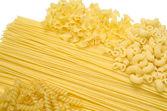Certain Types of Raw Pastas — Stock Photo