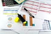 "Business Chart ""Event Budger"" — Foto de Stock"