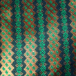 Colorful batik cloth fabric background — Zdjęcie stockowe
