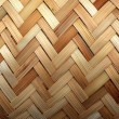 Weave bamboo background — Stock Photo