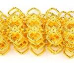 Gold belt isolated on white — Stock Photo #32443715