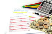 "Business Chart ""Event Budget"" — Stock Photo"