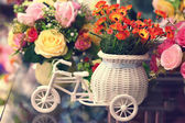 Vintage flower — Stock Photo