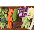 mixed vegetables — Stock Photo #35393387