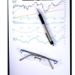Stock chart — Stock Photo #35499187