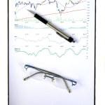 Stock chart — Stock Photo #35499329